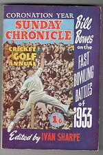 Sunday Chronicle - Cricket And Golf Annual 1953