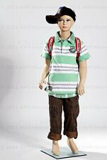 Full body child mannequin+stand,Realistic looking boy,Hand made manikin Stan-Bb5