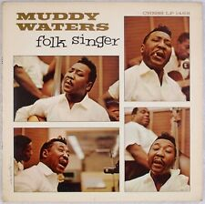 MUDDY WATERS: Folk Singer US Chess LP 1483 Mono Promo Blues Orig LP HEAR!