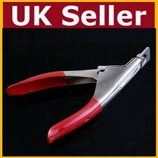 False Nail Clipper Cutter Fake Nails Tips UV Acrylic Gel Manicure Make Up Glue