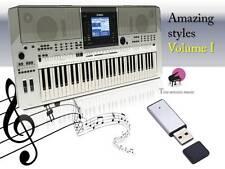 PSR S710 USB-Stick+AMAZING STYLES volume 1