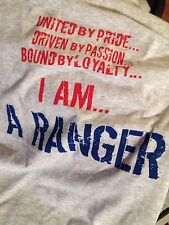 "NEW YORK RANGERS  ""I AM A RANGER"" T-SHIRT! SMALL"