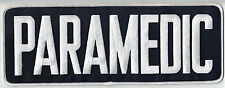 Large New Paramedic Back Patch (for shirt ot jacket) 11-inches by 4-inches