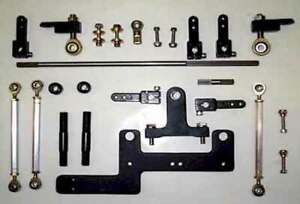 Blower Linkage kit - for Dual 4150- 4500 Carbs  Sideways on Superchangers