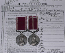 GvR ARMY LS&GC MEDAL & MSM PAIR + MiD TO CQMS RGA - Full Entitlement + Records