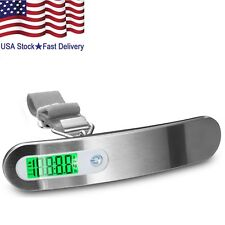 Portable Travel LCD Digital Hanging Luggage Scale 110lb / 50kg Electronic Weight