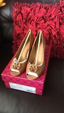 NIX Tory Burch Claire 65 mm open toe wedge shoes Size 8.5