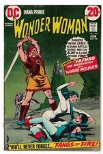 DC COMICS Wonder Woman 202 FN- 5.5 1972 superman batman