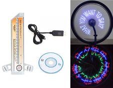 32 LED programmabile Bicicletta Bici Ciclismo Ruota Ha Parlato LIGHT 32 modello MTB CICLO
