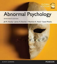 NEW 3 Days 2 AUS Abnormal Psychology 17E Susan M. Mineka Hooley James N. Butcher