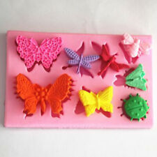 Butterfly Chocolate Candy Silicone Mold Mould Cake Baking DIY Tool Fondant JA