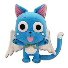 "FAIRY TAIL Guild Official Licensed DELUXE Large 8"" HAPPY Cat PLUSH Extalia Anime"