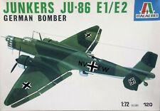 Italeri 1:72 Junkers Ju-86 E1/W2. German WW II Bomber. Kit Nr. 112.