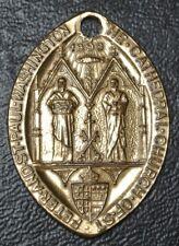 WASHINGTON CATHEDRAL St. Peter & St. Paul MEDALLION/PENDANT 1893 - Holed - Nice
