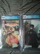 Batman #96 CGC 9.8 A Cover And 9.6 B Cover 1st App Of Clown Hunter!!!