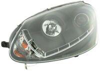 Éclairage Diurne Optique Phares Set VW Golf 5 Type 1K Année Fab. 03-08 Noir