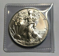 2021 1 oz American Silver Eagle  BU (Brilliant Uncirculated), .999 Fine Silver
