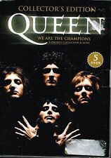 "QUEEN ""WE ARE THE CHAMPIONS"" [COLLECTOR'S EDITION] (5 DVD'S)"