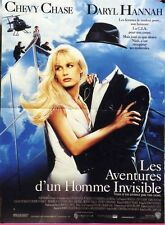 """LES AVENTURES D'UN HOMME INVISIBLE (MEMOIRS OF AN INVISIBLE MAN)""Affiche orig."