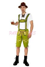 OP 215 MENS Costume Fancy Dress German Beer Lederhosen Oktoberfest Bavarian