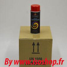 Aérosol de peinture decoration artisanat couleur rouge Traffic RAL3020 12x400ml