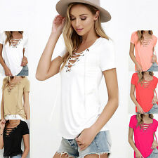 Mode Sexy Femmes Chiffon Hauts Chemisiers Casual Tunique T-shirt Loose Tank Top