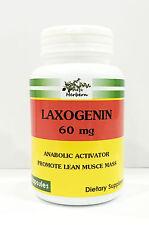 60 mg x 100 capsules, LAXOGENIN ANABOLIC ACTAVITOR, PREMIUM QUALITY, UNISEX