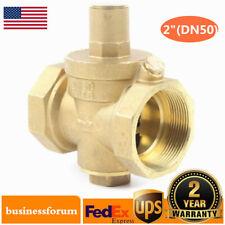 2 Dn50 Adjustable Water Pressure Reducing Brass Valve Regulator For Food Us