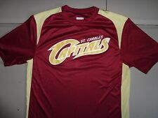 Maroon #3 St. Charles Capitals Premier League Baseball Jersey Adult M Excellent
