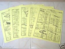 Mitchell's Part Number Service Sheets and Illustrations for 1964 Mercury Comet