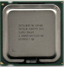 Intel Core 2 Duo E8400 3GHZ 6MB bus 1333MHZ socket 775