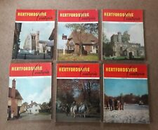 July to December 1968 - Hertfordshire Countryside Magazines - 6 x Issues
