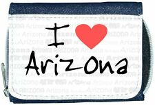 I Love Heart Arizona Denim Wallet