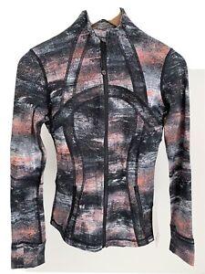 Lululemon Define Jacket NWT Size 4 RPCM Luon Multicolored Slim Fit LW4BAGS