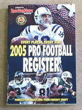 THE SPORTING NEWS TSN NFL FOOTBALL REGISTER - 2005 - PEYTON MANNING
