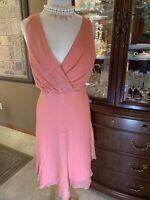 J CREW Silk Dress Size 16 MRSP $188 NWT EVENING Marilyn Monroe LOW CUT SEXY new