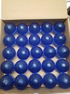 25 Blue LED E17/C9 LED SMD DIMMABLE RETROFIT BULB G50