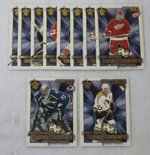 2001-02 Vanguard Hockey Quebec Tournament Heroes Set (1-10) Lemieux Roy
