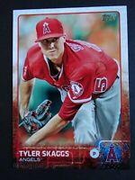 2015 Topps #74 Tyler Skaggs Los Angeles Angels Baseball Card
