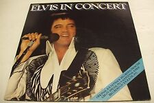 ELVIS PRESLEY-ELVIS IN CONCERT 2 LP GATEFOLD COVER RCA APL2-2587