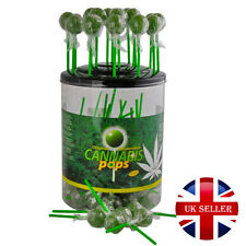 100 x Hemp Lolly Pops THC Free Original Amsterdam Sweet Lollies UK