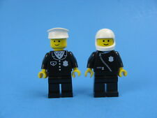 LEGO Minifig cop015 @@ Police Suit with 4 Buttons Black Hat 6390 6396 10041