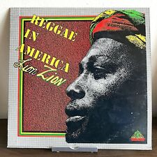 Reggae in America by Lion Zion 1976 Vinyl House of Natty Records Autographed