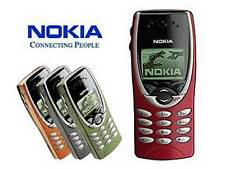Nokia 8210  (Unlocked) Mobile Phone various colours