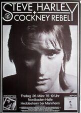 Harley, Steve - 1976-concert affiche-Concert-Tourposter-Mannheim