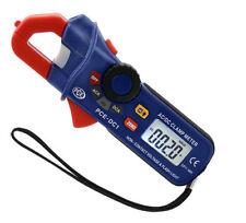 Pinza amperimétrica medidor de corriente amperimetro multímetro  AC DC PCE-DC1