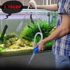 Aquarium Fish Tank Cleaning Clean Vacuum Water Change Gravel Cleaner Siphon Pump