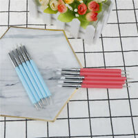 2 Way Pottery Clay Ball Styluses Tools Polymer Clay Sculpture Nail Art Tools  cl