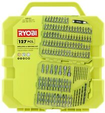 Ryobi Drill Drive Kit 127 Piece Black Oxide General Purpose Compact magnetic