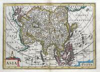 ASIA, Cluver, Jansson, original antique map 1661